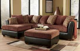 Display look L pattern sofa with 5 years of warranty