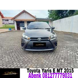 Toyota yaris E uprade G manual 2015/2016, Free BBN, aksesoris #jazz