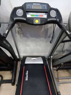 Almost new treadmill slimline slightly used good condition 110 kg supp