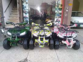 Full Option 125CC Medium Size ATV Quad 4 Wheel Bike Available Here