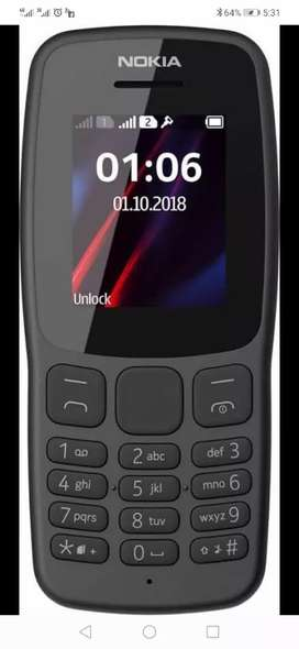 Nokia 106 box pack with out warranty PTA ragistar