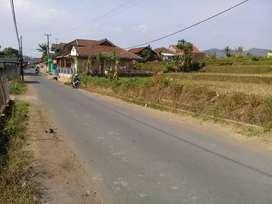 Tnh Zonasi kuning 5Menit ke kwasan industri Banjaran lt.7500m2 Shm