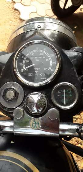 Well maintained Royal Enfield bullet