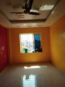 Rent of flat available at Chinar park on road for bachelors