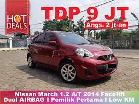 [TERMURAH] Nissan March 1.2 A/T 2014 Pajak Panjang Low KM ISTIMEWA