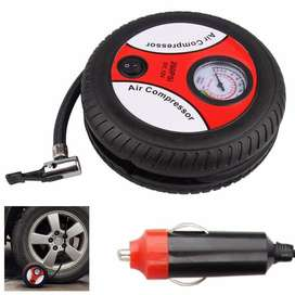 2019 Online Store 260PSI 12V Tyre Shaped Portable Tire Inflator with E