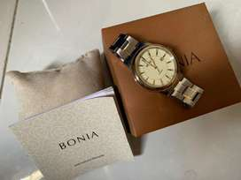 (Original) Jam tangan bonia rosso bnb 10099 non apple watch gshock