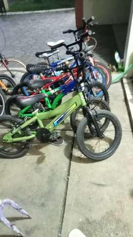 Sepeda BMX ukuran 16 siap gowes