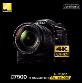 Nikon D7500 Kit DSLR Camera Crop
