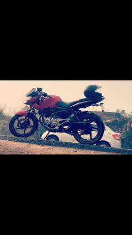 Scrathless condition, bajaj pulsar 135ls , all papers with insurance,