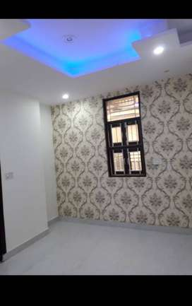 2 bhk builder floor Modular amenities with parking 90% loan available
