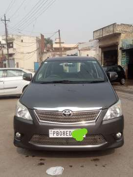 Toyota Innova 2012 Top Model Diesel Good Condition two keys