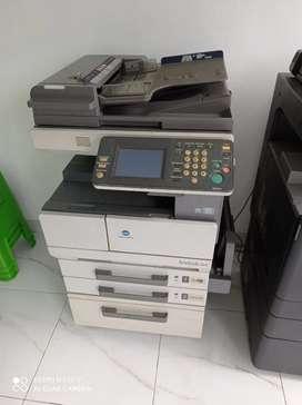Dijual Mesin Fotocopy Konica Minolta bizhub 350