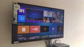 32 inch full hd LED TV || Slim design || 1 year onsite warranty