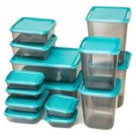 Toples plastik set