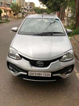 Toyota Etios Liva VXD, 2018, Diesel