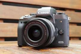 Kredit Kamera Canon m5, Mudah & Cepat Dp cuma 1jutaan aja