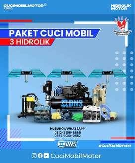 DNS Paket Usaha Hidrolik Cuci Mobil 3 unit Hidrolik H lengkap & Murah