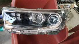 Original Innova crysta headlamp crysta headlight projector drl hid.