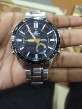 Brand New Watch Casio Edifice 5 month old in warranty period