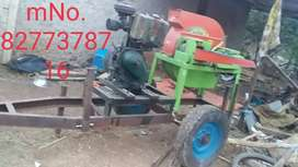 Tractor chap cuter oil engine