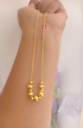 Kalung xuping lapis emas pnj 45cm