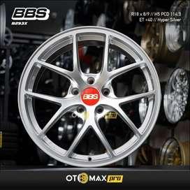 Velg Mobil BBS B293X Ring 18 Hyper Silver