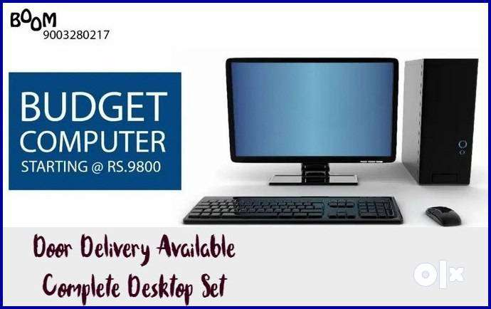 AMAZING OFFER BEST For HOME Desktop Set Complete with Warranty & Bill 0