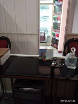 Office space furnushed first floor main road side