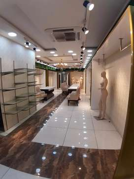 commercial space available for rent at main road Abu lane Meerut