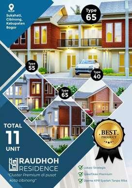 Cluster Premium Berlokasi Strategis di Pusat Kota Cibinong Bogor