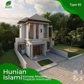 Rumah Nyaman Dua Lantai dekat Tengah Kota Bandung