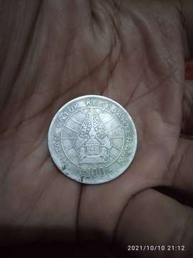 Koin Rp 100 Tahun 1978