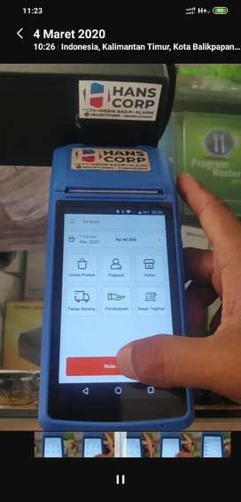 Mesin Kasir Android + Printer Bluetooth