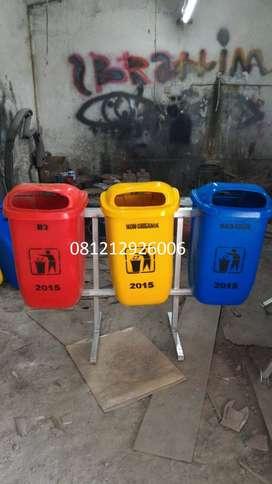 jual tong sampah oval,pabrik tempat sampah fiber,bak sampah murah