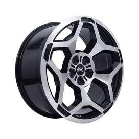 velg CRV HSR-MYTH10-Ring-20x9-H5x114.3-ET35-Black-Machine