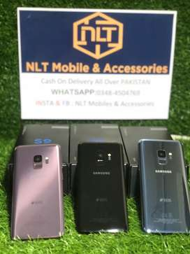 Samsung S9 Single Dotted PTA Approved Box and All Accessories