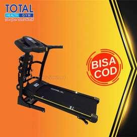 treadmill elektrik tl 636 treadmil 2 hp total COD Cilacap