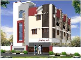 3 Bhk Semi independent Villa for sale at Pallikaranai sai Baba Nagar
