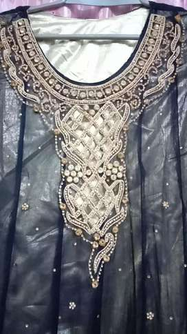 Wedding fancy dress perfect stuff and material