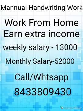 Fresher also welcome golden opportunity simple job