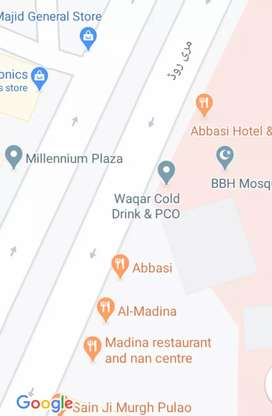 Shops for sale on murree road