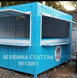 Booth usaha,booth dagang booth Container coffee shop Container,roda