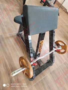 Get new gym setup at nominal cost with heavy duty and impoted look.