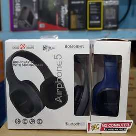 Sonicgear Airphone 5 Bluetooth Headphone with Mic Strong Bass Headset