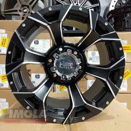 Velg mobil racing fanther r16 HSR wheel Arguni r16 baut 6x139,7 Hitam