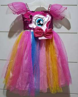 Dress anak utk usia 1-2 tahun,unicorn butik hoc costumes