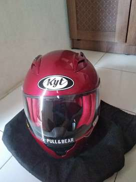 Helm kyt rc7 red uk m