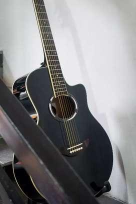 Gitar Custom yamaha apx kualitas oke