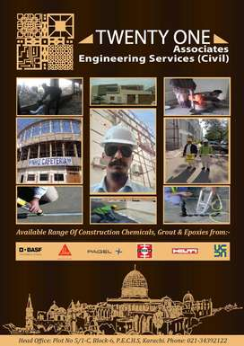 Construction of Structure & Full Furnished also all kind of Civil Engg